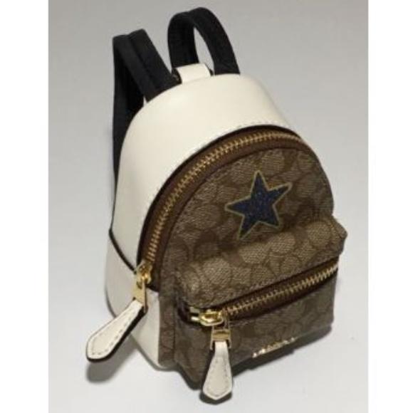 Coach Accessories   Mini Backpack Coin Purse Key Chain   Poshmark f6361ea998